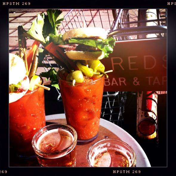 $5 Bloody's, Spanish Wine Flights, & Live Music Today 4/14 2pm